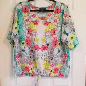 Style & Co. Floral Top